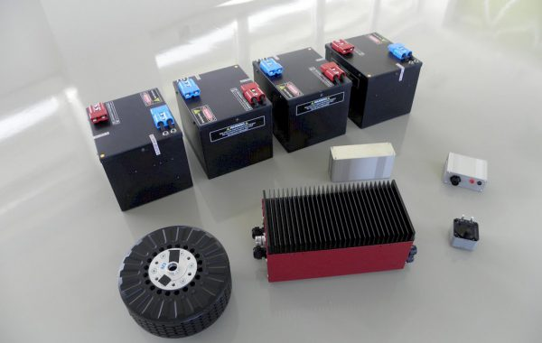 Electric Propulsion generic battery, motor and controller set