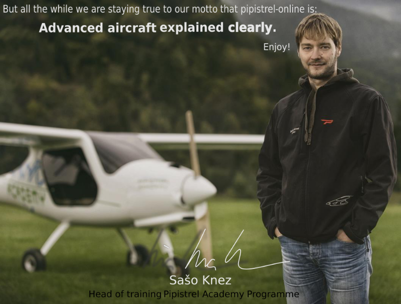 Pipistrel Academy Online training courses