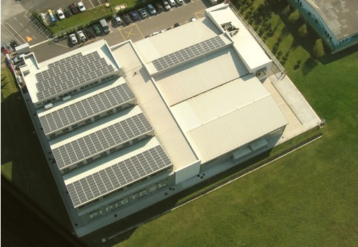 Pipistrel aircraft factory in Slovenia Solar plant fitted