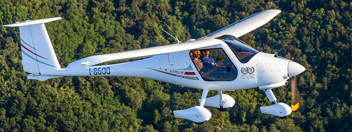 Pipistrel Virus LSA Aircraft NASA CAFE Record Holder