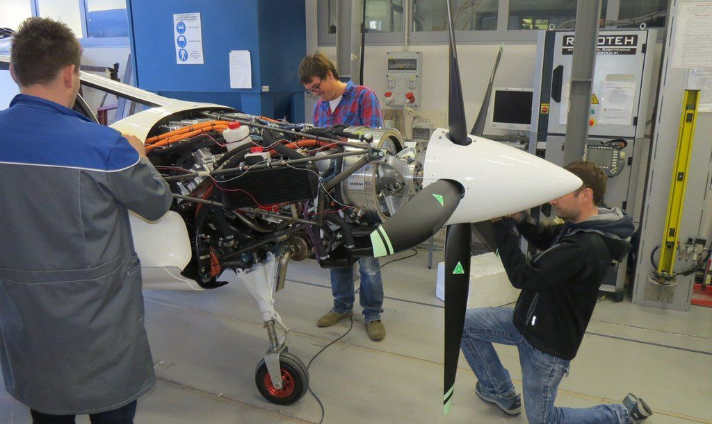 Pipistrel Hypstair Hybrid aircraft electric aircraft near zero emissions