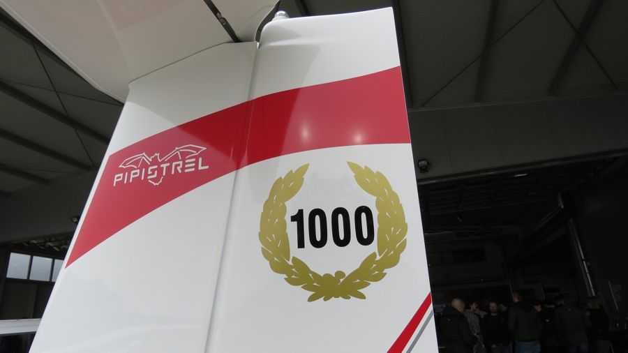 Pipistrel Sinus MAX aircraft number 1000