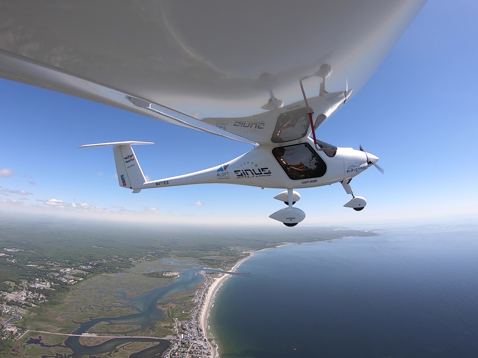 Riley Speidel 14 year old adventurer flies solo across the USA Pipistrel Sinus