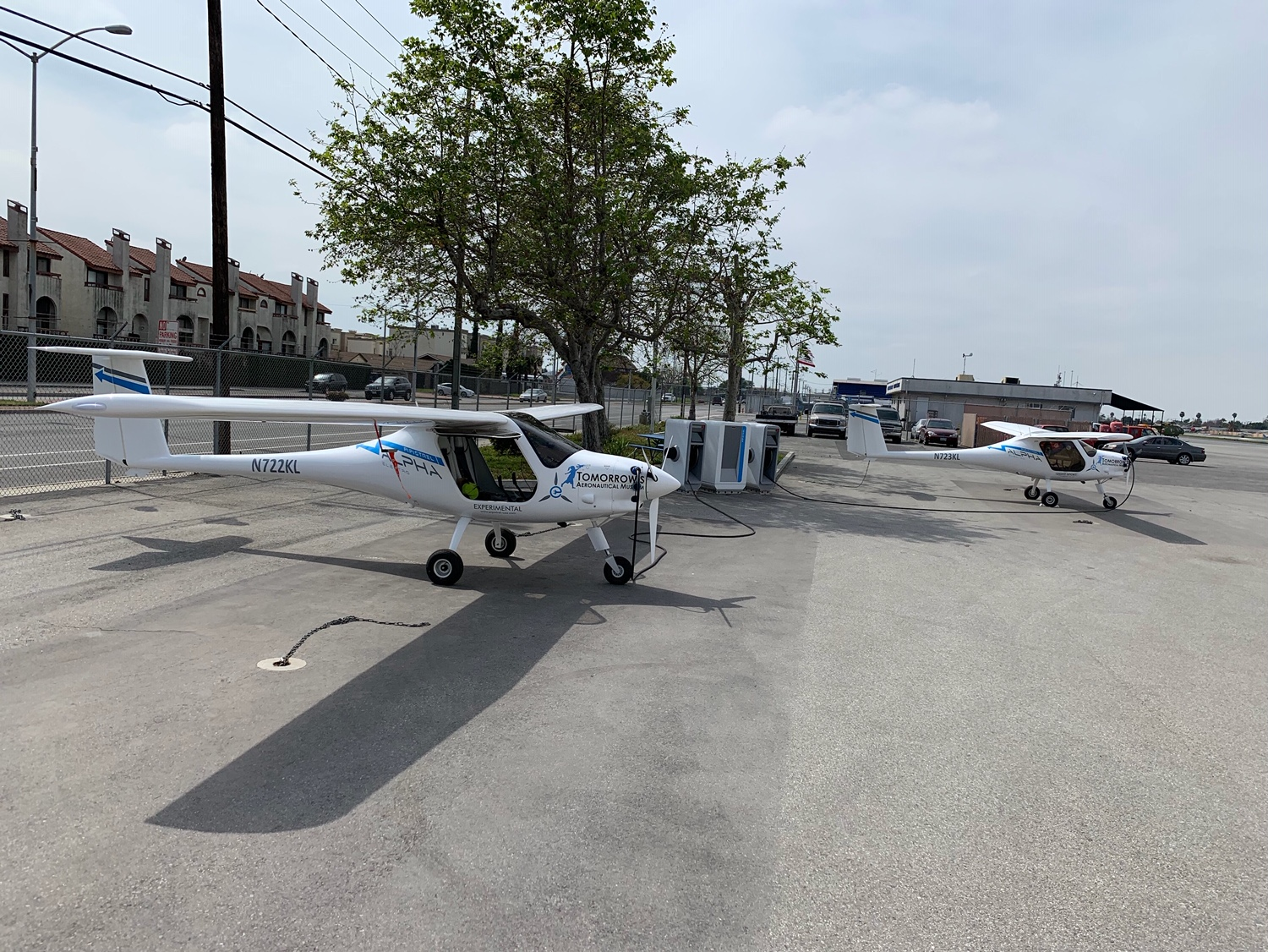 Pipistrel SkyCharge at Compton Airport California